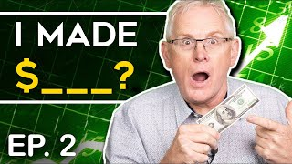 Millionaire Invested $100 & Made $_____  (How to Invest For Beginners EP. 2)