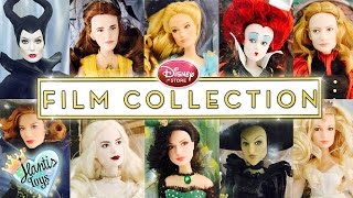 Disney Film Collection Dolls - Oz, Maleficent, Cinderella, Alice, Beauty and The Beast