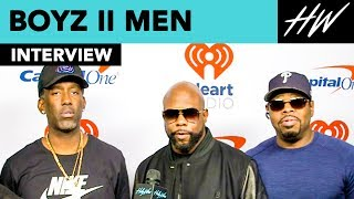 Boyz II Men Harmonizes LIVE And Spills All About Their Las Vegas Residency!   Hollywire
