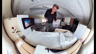 The Ultra-Luxe  LUFTHANSA FIRST CLASS Experience...