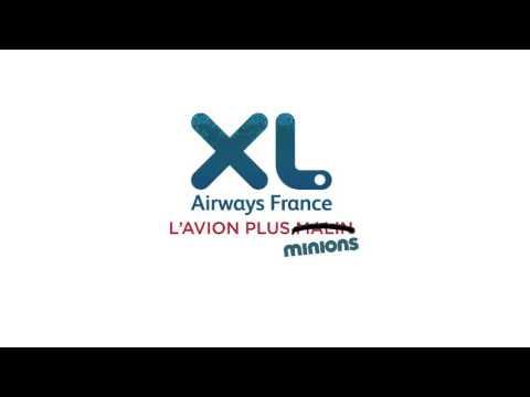 Spot TV 2015 - XL Airways et Les Minions - Les Antilles et La Réunion