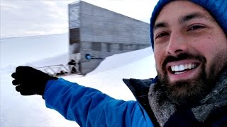 Inside the Svalbard Seed Vault