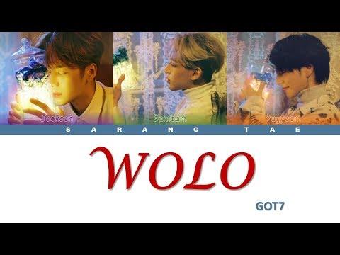 GOT7 (갓세븐) - 'WOLO' Lyrics [Color Coded_Han_Rom_Eng]
