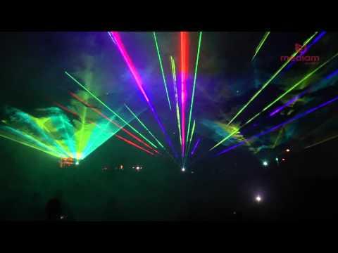 Pokaz laserowy XI Święto Papryki Klwów 2015 LASERY INFO