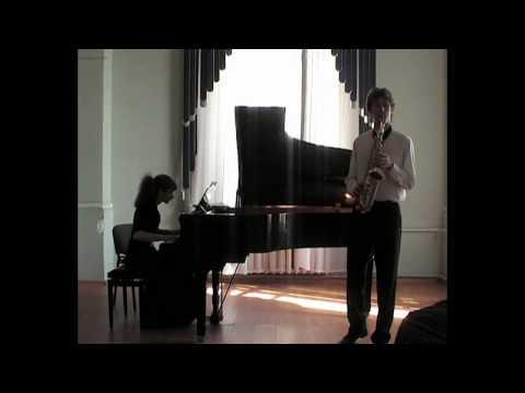 Stanislav Prizh - Denisov. Sonata for saxophone