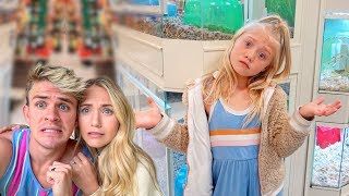 Taking Our 6 Year Old To The Pet Store And Buying Her Any Pet She Wants!!!