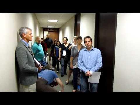 "Austin's ""Save Service District Day"" - meeting w/ Senator Cornyn - 2/25/11"