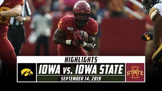 No. 19 Iowa vs. Iowa State Football Highlights (2019) | Stadium