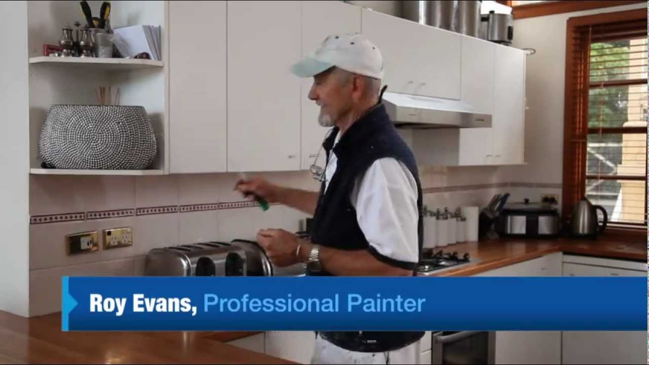 How To Paint Laminate Cupboards Youtube