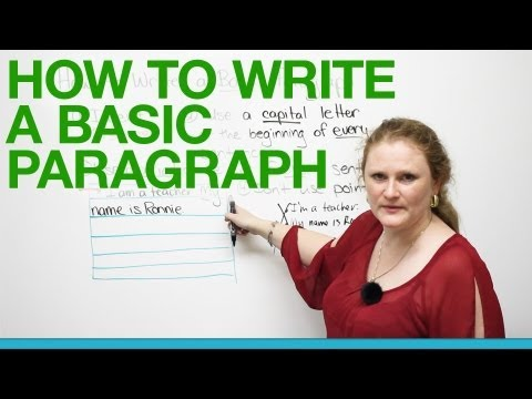How To Write A Basic Paragraph - Smashpipe Education