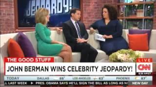 John Berman wins celebrity Jeopardy! @JohnBerman @CarolCNN @jaketapper @MichaelaCNN @AlisynCamerota