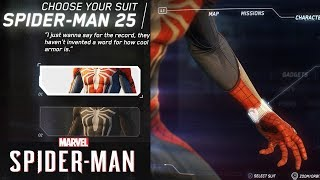 Spider-Man PS4 - I Can't Believe They REMOVED The Suit! & Early Upgrade System Looks Insane!