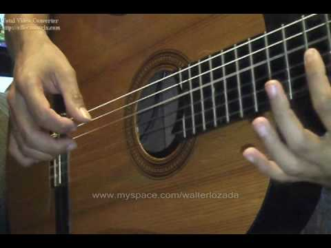 WALTER LOZADA 3 Curso de guitarra peruana / Vals acompañamiento 3