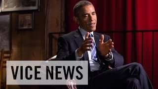 President Barack Obama Speaks With VICE News