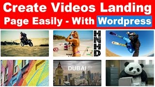 How to Create Video Landing or Video Gallery Page in Wordpress Under 7 Minutes