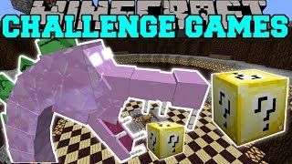 Minecraft: SPIKEZILLA CHALLENGE GAMES - Lucky Block Mod - Modded Mini-Game