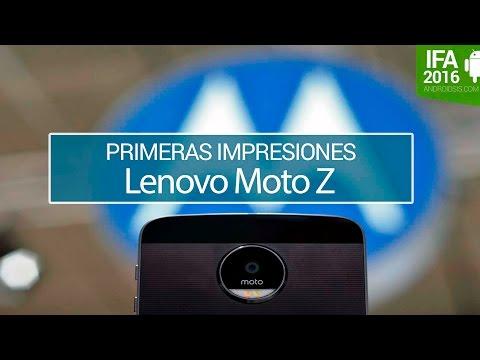Moto Z Primeras impresiones en IFA