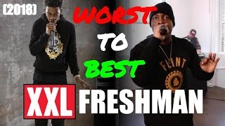 ALL 80 XXL Freshman Cyphers RANKED from Worst to Best (UPDATED 2018)