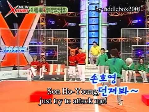 Funny Ball Game ( feat. Shinhwa + Park Myung Soo + Brian Joo ) ( eng sub )