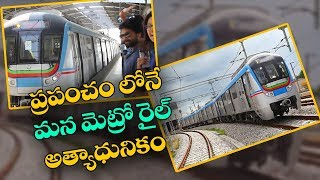 Hyderabad Metro Rail is now second largest in country..