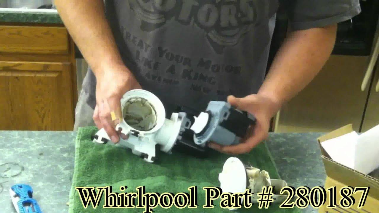 Whirlpool Washing Machine Drain Pump Replacement And