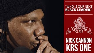 Class with KRS ONE [Who is our next black leader]