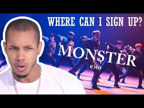 EXO - MONSTER MUSIC VIDEO REACTION