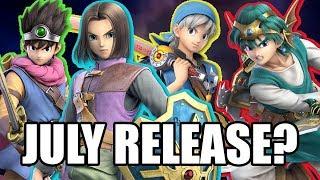 Super Smash Bros. Ultimate - The Hero Releasing In July!?!?