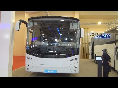 Otokar Kent 290U Bus (2016) Exterior and Interior in 3D
