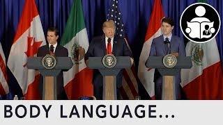 Body Language: G20 Summit 2018 Trump Stressed