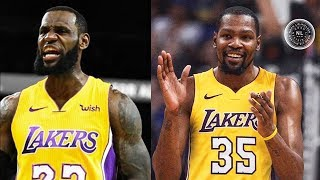 LeBron James & Kevin Durant Joining Lakers? Stephen A. Smith Says LeBron & Durant Are Texting