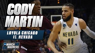 Nevada's Cody Martin does a little bit of everything in the Sweet 16