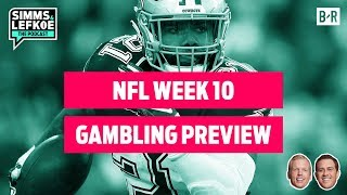 Will the Eagles Start NFC East Title Run vs. Cowboys? | NFL Week 10 Gambling Preview