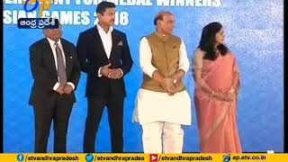 Indian Govt Felicitates Asiad Medal Winners With Cash Awar..