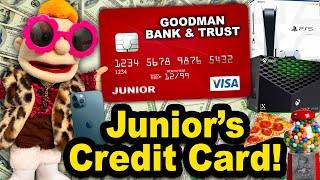 SML Movie: Junior's Credit Card!