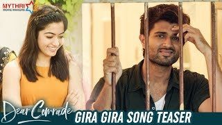 Gira Gira Video Song Teaser- Dear Comrade Movie: Vijay Dev..