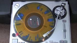 The Crystal Method - Keep Hope Alive (Gold with blue splatter Vinyl Cut)