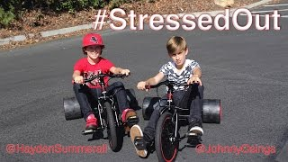 twenty one pilots: Stressed Out [OFFICIAL VIDEO COVER] by Hayden Summerall and Johnny Orlando