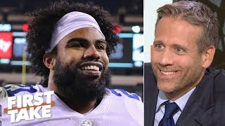 Zeke won the deal with the Cowboys - Max Kellerman | First Take