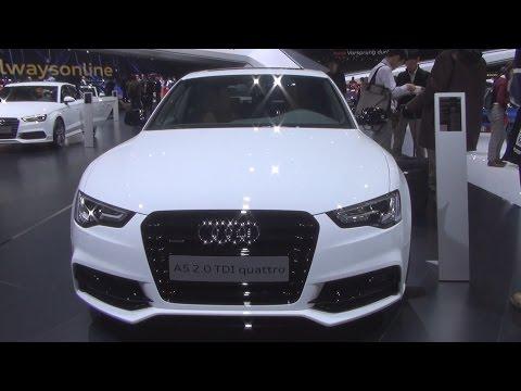 Audi A5 Sportback 2.0 TDI Quattro S Tronic 140 kW (2016) Exterior and Interior in 3D