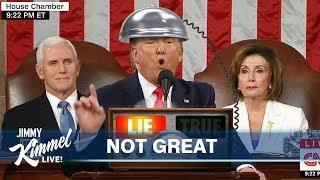 Jimmy Kimmel on Trump's SOTU & Iowa Caucus