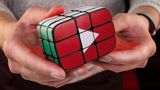 I Make a Rubik`s cube Youtube play button | 100,000 subscribers