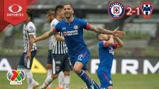 Remontada celeste | Cruz Azul 2 - 1 Monterrey | Apertura 2018 - Jornada 12 | Televisa Deportes