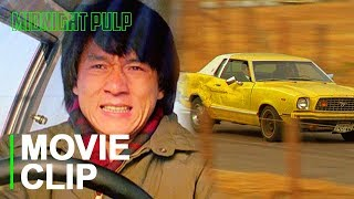 One of Jackie Chan's Most Famous Car Stunts!   Clip from 'My Lucky Stars' [HD]