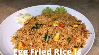 How to & Best Cooking Recipes for Egg Fried Rice  Hotel style Egg Fried Rice  Chinese egg fried rice