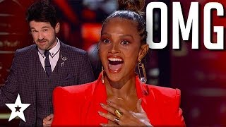 Shin Lim & Colin Cloud Hypnotise Alesha Dixon on America's Got Talent: Champions | Got Talent Global