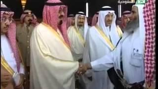 زيارة خادم الحرمين الشريفين الملك عبدالله بن عبدالعزيز لأسرة آل شبيلي     -
