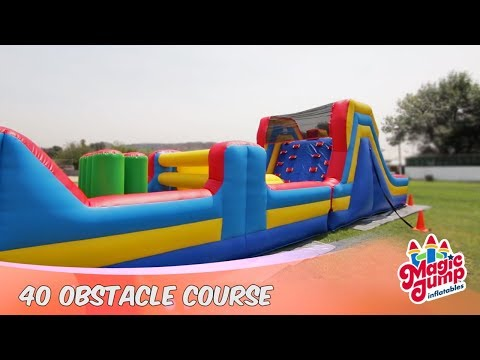 40 Obstacle Course - Inflatable Obstacle Course | Magic Jump, Inc.