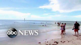 8 people injured in lightning strike on Florida beach