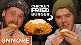 Weird Burger Taste Test - Mythical Crew